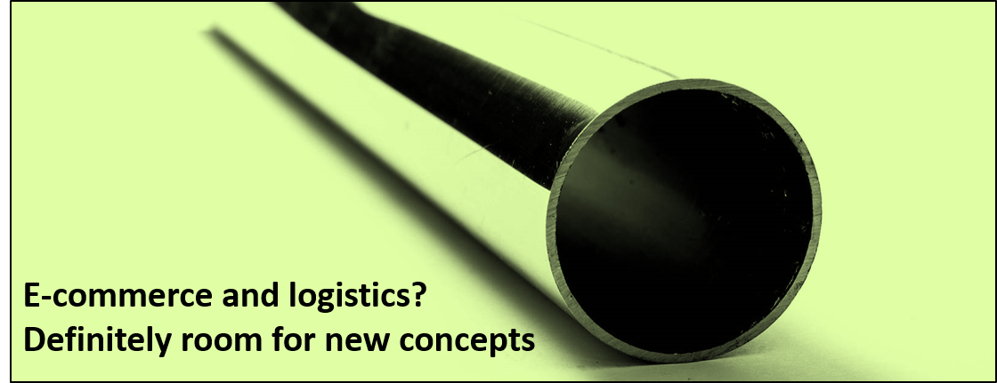E-commerce and logistics – room for newconcepts!